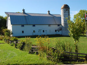 Rotary Barn at Woldumar Nature Center